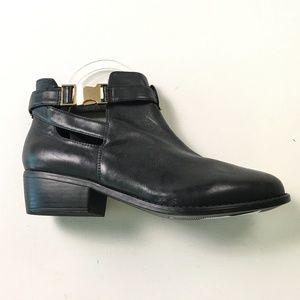 Top Shop Black Boots 6 B49:x01852